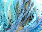 Внешний вид - 2 Strands Sea Glass (34 beads) 10mm Barrel Beads You Pick Color