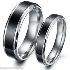 1 PC Stainless Steel Ring Band Couple Rings Personality Simple Wedding