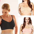 New Fit Seamless Nursing Bra pregnant Maternity Breast-feeding Bralette Stretchy