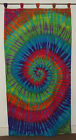"""Hippie Tie dye dyed Tapestry Tab Top  Panel Curtains Wall hanging 41""""*80"""""""