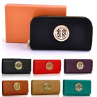 Ladies Designer Leather Style Celebrity Women's Purse Wallet With Coin Space