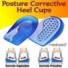 GEL Posture Heel Levelling Foot Supports Angled Correcting Pronation Supination
