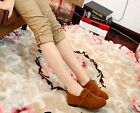 Women's Spring New Fashion Round Toe Lace Up British Style Flats Casual Shoes