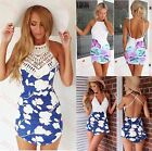 2015 Sexy Women's Bandage Bodycon Lace Evening Party Cocktail Short Mini Dress