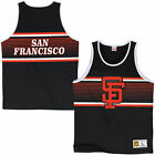 Mitchell & Ness San Francisco Giants Black Surprise Win Tank Top
