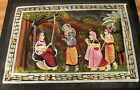 NEW Hand Painted Lord Krishna And The Gopi's In Various activities India