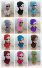 Wholesale Retail Cross Thin  Muslim Inner Hijabs Caps Islamic Hats Style Scarf