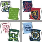 Choose Your MLS Soccer Team Doubleheader Series Draw String Backsack Bag