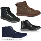 Firetrap Baccara Lennon Mens Boots Shoes High Ankle Lace Up U65