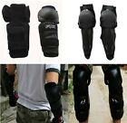 Motorcycle Motocross Sports Body Protection Armour Knee&Elbow Black Guard Pads Z