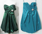 Green or Teal JOVANI EVENING DRESS Cocktail Bridesmaid Prom NWT