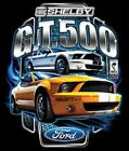 FORD SHELBY GT 500 YELLOW MUSTANG ACCENT THROW PILLOW MAN CAVE GAME ROOM