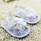 Toddler Baby girl sandals crib shoes white size 0-6 6-12 12-18 Month