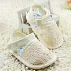 Toddler Baby girl hot beige sandals crib shoes size 0-6 6-12 12-18 Month