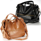 Ladies roomy series shoulder weekend bag celebrity golden rivet studded punk