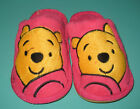 New Unisex Pooh plush Winter slippers pink