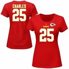 Jamaal Charles Kansas City Chiefs Women's Red Her Catch Plus Size T-Shirt
