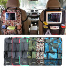 CAR AUTO REAR SEAT BACK ORGANIZER PROTECTOR iPAD HOLDER KICK MAT COVER TRUNK NET