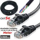 RJ45 Cat5e ETHERNET NETWORK LAN UTP Cable Patch Lead 10M 15M 20M 30M 35M 40M 50M