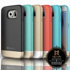 Vena iSlide Hybrid ULTRA-SLIM Matte Rubberized Case Cover For Samsung Galaxy S6