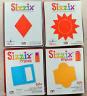 Sizzix Original Red Dies Sun/Diamond #2/Card with Window/Envelope to fit Card