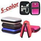 """Multifunctional Shockproof Portable 2.5"""" HDD Carry Case External Hard Drive Bags"""