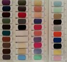"TAFFETTA LUXURY PLAIN FABRIC 150CM (60"") - 20 COLOURS FREE UK P&P,1,5,10 & 50MTS"