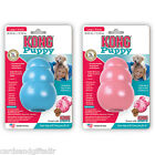 Kong Puppy Dog Chew Toy Rubber Teething Small Medium Large Pink Blue Toys
