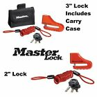 "MasterLock Disc Brake Lock 2"" 3"" Motorcycle Anti-Theft Security Suzuki $29.47 USD on eBay"