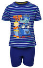 Boys Bob the Builder Here to Help Cotton Summer Shorty Pyjamas 2 to 8 Years NEW