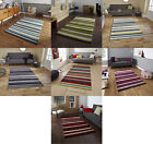 Hong Kong Hand Tufted Large Modern Rug Striped Design Acrylic Home Decor Mat