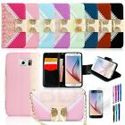 Luxury Flip Stand Wallet Leather Credit Card Cover Case For Samsung Galaxy S6
