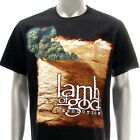 Sz M L XL XXL 2XL LAMB OF GOD T-shirt Rock Pure American Black Many Size La21