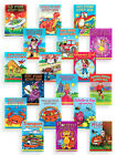 Boys Girls 36 Page Sticker Puzzle Colouring Activity Books Kids Party Loot Bags