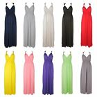 SALE CLEARANCE LADIES SEXY GRECIAN STYLE STRAPPY MAXI DRESS BOHO LONG ONE SIZE