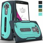 New Vena Heavy Duty shockproof hybrid protective hard shell Case Cover For LG G4