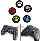 4XCat Paw Silicone Joystick Thumbstick Grips Cap For PS4 PS3 Xbox 360 Controller