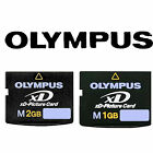 Genuine Type M 1GB/2GB XD Picture Memory Card  for Olympus Digital Cameras EA