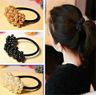 Nice Hair Accessories Craft woven beads elastic hair ring Headband for Women