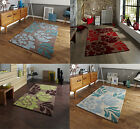 Large Contemporary Floor Rug Floral Pattern Hand Tufted 100% Acrylic Hong Kong