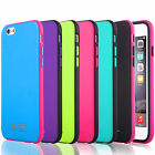 For Apple iPhone 6 6S 4.7 inch Slim Hybrid ShockProof Rubber Bumper Case Cover