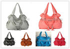 New Women's Synthetic Leather Totes Shoulder Handbags Purse Messenger Hobo Bag