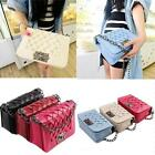 Fashion Women Shoulder Bag Weave Chain Cross Body Satchel Ladies Handbag - LD