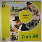 VARIOUS: Porutgal - Musical Atlas LP (Italy, gatefold cover, drill hole, some s