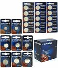 Renata Lithium Batteries Watch Battery Cell Coin  [ All Sizes ] Swiss Made