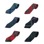 Boys Black Watch, Royal Stewart, MacKenzie, Douglas 100% Wool Tartan/Plaid Tie