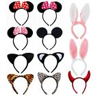 Minnie Mouse Animal Ears Bow Headband Womens Girls Mickey Party Fancy Dress
