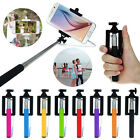 Bluetooth Self-Pole Monopod Extendable Handheld Selfie Stick Holder For iPhone