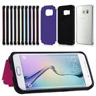 Slim Hybrid Cover Inverse Cared Slot Stand Case Cover For Samsung Galaxy S6 Edge
