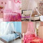 Hotsale Princess Round Dome Lace Bed Mosquito Netting Mesh Canopy Bedding Net Z